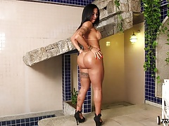 Marvelous Mexican transgender princess with epic spectacular bod