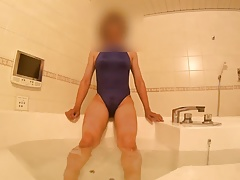 asian crossdresser bathing suit 5