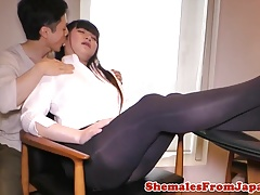 shemale rimmed before analfucked