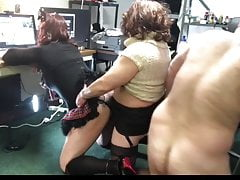 Sissy CD Brenda used as pummel pig by Cd Amy and man acquaintance