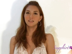 Sapphire Youthful in the Motel