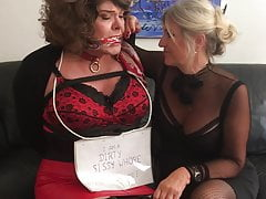 Dizzy Pantygagged by Mistress!