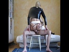 Lucienne gets her booty plumbed