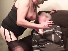 Mature Trans with Older Client
