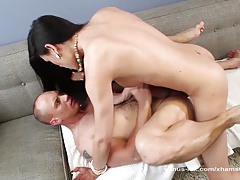 Venus Lux Backside Pummels Her Secretary