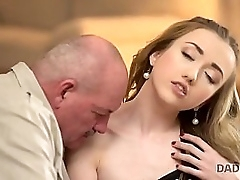 DADDY4K. Anorectic blow the gaff speaks Russian relating to BF's pa then they lady-love