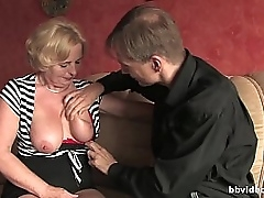 Bbvideo.com Of age German sprog takes a lasting penis