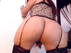 Pretty Red-hot Ladyboy Insane on Cam
