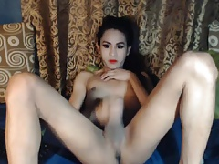 Super-naughty Ultra-cute Ladyboy Tugging