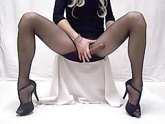 AnaKristina - stockings taunting
