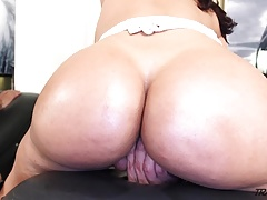 Posh rump Mexican transgender princess with  rump fuck-hole