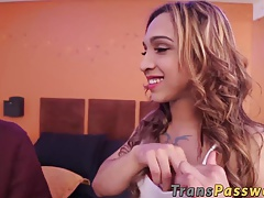 Adorable t-girl Irina Chanell  a  rock hard hard-on