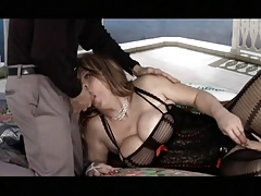 Lush t-girl romped by older boy