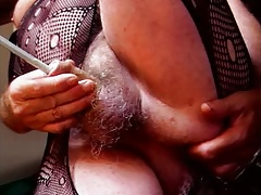 ladyboy transvestite nylon  sounding urethral    fuck stick