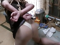 Jyosoukomayumi  paraffin wax play with nawa